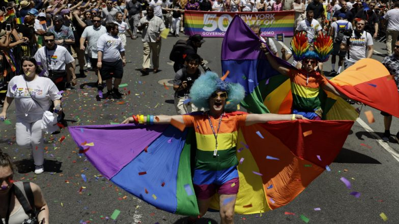 Stonewall Riots 50th Anniversary: Thousands Participate in New York Pride Parade