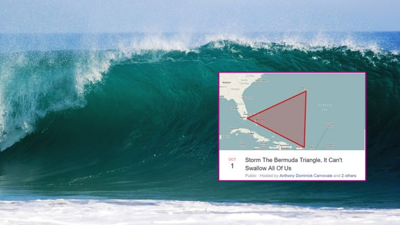 After 'Storm Area 51' Event Goes Viral, New Event to 'Storm The Bermuda Triangle' Comes Up With 25,000 People Already Interested!