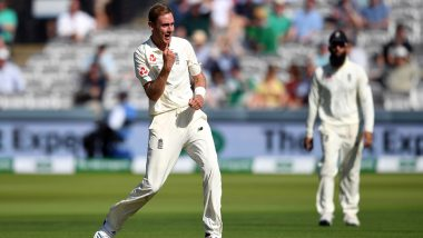 What is Celebrappeal in Cricket? Netizens Are Searching For the Term After Stuart Broad Dismisses Paul Stirling During England vs Ireland 2019 Test Match
