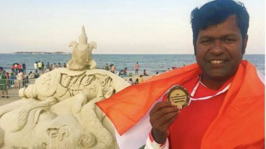 Sudarsan Pattnaik, Sand Artist Wins People's Choice Award in US at International Sand Sculpting Championship 2019