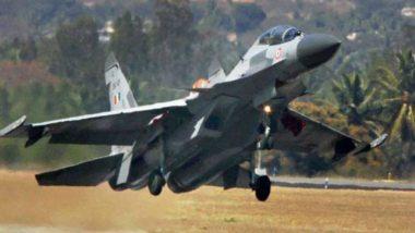 Sukhoi Fighter Jet Suffers Bird Hit at Jodhpur Airbase as Adjoining Drain Endangers Flight Safety