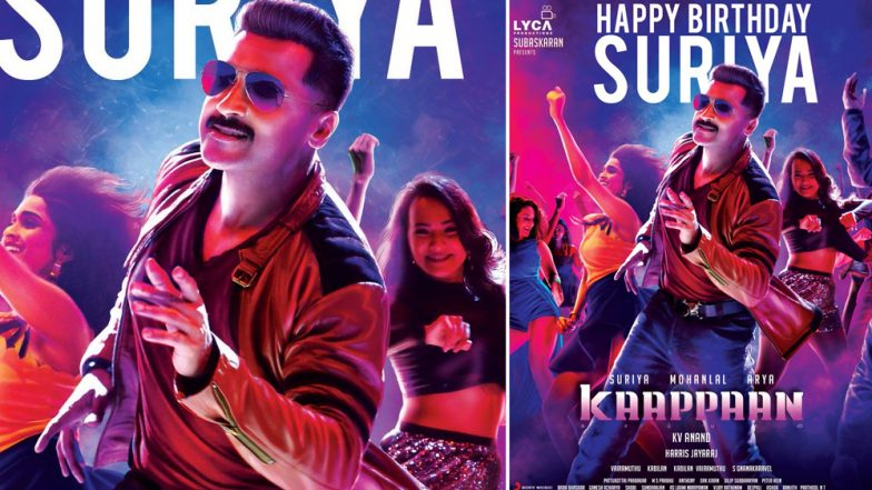 Kaappaan Team Releases New Poster on Suriya's 44th Birthday, and He Looks Dapper as Ever!