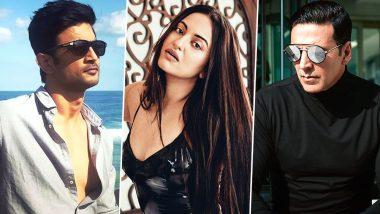 Sonakshi Sinha, Akshay Kumar and Sushant Singh Rajput Send Good Wishes to ISRO for Chandrayaan 2 Launch - Read Tweets