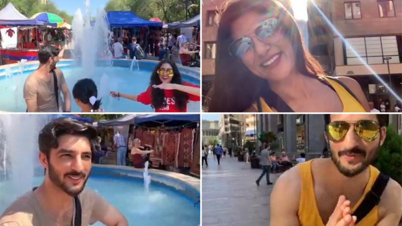 Sushmita Sen Is Having a Blast in Armenia With Daughters Renee, Alisah and Boyfriend Rohman Shawl - Watch Video