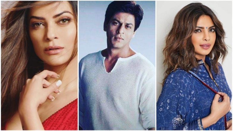 World's Most Admired Persons 2019: Sushmita Sen, Shah Rukh Khan, Priyanka Chopra and Other Bollywood Celebs Who Made It To The List