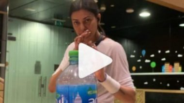 Watch Sushmita Sen, Her Daughters and Rohman Shawl Take On The #BottleCapChallenge