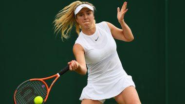 Elina Svitolina vs Karolina Muchova, Wimbledon 2019 Live Streaming & Match Time in IST: Get Telecast & Free Online Stream Details of Women's Singles Quarter-Final Tennis Match in India