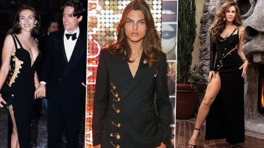 Elizabeth Hurley's THAT Dress Recreated by Son Damien Hurley; Everything About the Iconic Versace Safety Pin Dress