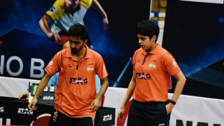 Commonwealth Table Tennis Championships 2019: Sathiyan Gnanasekaran-Archana Kamath Win Mixed Gold, Sharath Kamal Loses Men's Singles Semifinal