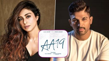 CONFIRMED! Tabu to Share Screen Space with Allu Arjun in AA19 (Watch BTS Video)