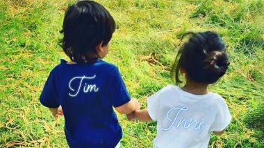 Taimur Finds his Play Buddy in Cousin Inaaya Naumi Kemmu as the Latter Joins him in London - View Pic