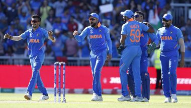 India vs New Zealand Live Cricket Streaming on Prasar Bharati Sports: Get Radio Commentary With Live Score of IND vs NZ ICC Cricket World Cup 2019 Semi-Final 1 ODI Clash