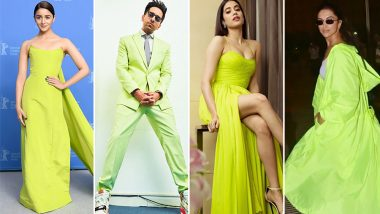 Alia Bhatt, Deepika Padukone, Janhvi Kapoor and Other Bollywood Celebs are in Love with this Colour and It's Time You Join their Obsession - View Pics