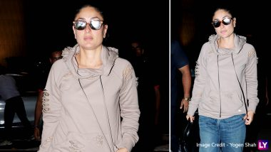 Kareena Kapoor Khan is Busy as a Bee Shuttling Between Mumbai and London for Work, the Actress Jets Off to UK After Wrapping DID 7 Shoot - See Pics