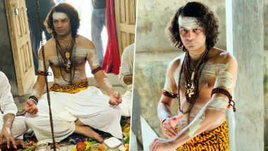 Tej Pratap Yadav is Back! Lalu Prasad Yadav's Elder Son Dresses Up as Lord Shiva, Offers Prayers at Temple