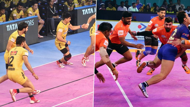 Telugu Titans vs U Mumba, PKL 2019 Match Free Live Streaming and Telecast Details: Watch HYD vs MUM, VIVO Pro Kabaddi League Season 7 Clash Online on Hotstar and Star Sports