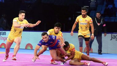 Telugu Titans vs Dabang Delhi Dream11 Team Predictions: Best Picks for Raiders, Defenders and All-Rounders for TEL vs DEL PKL 2019 Match 8