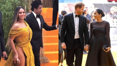 Beyonce - Jay Z And Prince Harry - Meghan Markle: The Royals Meet At The Red Carpet Of The Lion King's European Premiere!