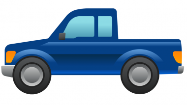 Ford Built New Pickup Truck Emoji To Celebrate World Emoji Day