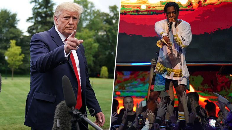 Donald Trump Offers to Guarantee Bail for Rapper ASAP Rocky