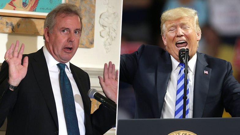Donald Trump Calls Kim Darroch, British Ambassador to US, 'A Very Stupid Guy'