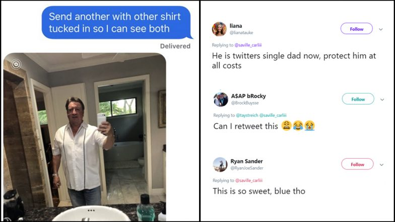 Adorable Single Dad Requesting for Dating Fashion Tips From Daughter Goes Viral On Twitter! Wins Thousand of Fans and Dates After He Is 'Stood Up'
