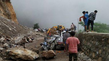 Kanwar Yatra 2019: Four Kanwariyas Die After Heavy Boulder Crashes Into Vehicle in NH 48 Near Tehri Garhwal in Uttarakhand