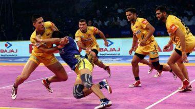 PKL 7 Match Results: Telugu Titans Go Down to U Mumba in Season Opener of Vivo Pro Kabaddi League 2019