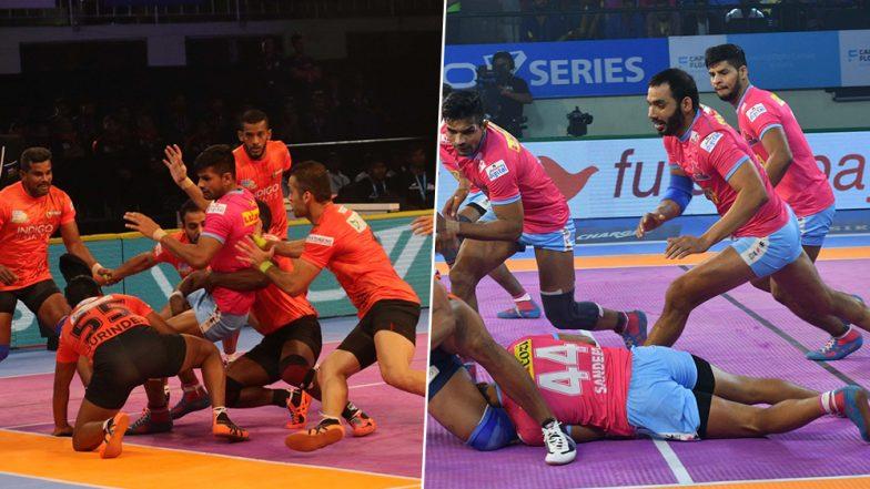 U Mumba vs Jaipur Pink Panthers, PKL 2019 Match Free Live Streaming and Telecast Details: Watch MUM vs JAI, VIVO Pro Kabaddi League Season 7 Clash Online on Hotstar and Star Sports