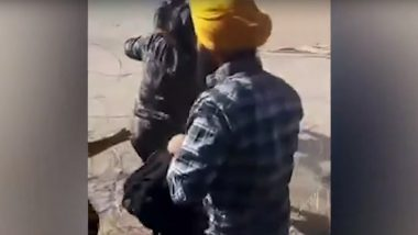 Punjabi Men, Women And Children Seen Crossing Over To US With Help From Mexican Traffickers; Video Surfaces Online