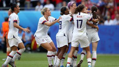 USA Beat Netherlands 2-0 to Lift FIFA Women's World Cup 2019 Trophy, Megan Rapinoe and Rose Lavelle Score Goals in Final of Quadrennial Football Tournament