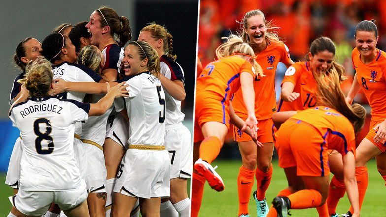United States vs Netherlands, FIFA Women's World Cup 2019 Live Streaming: Get Telecast & Free Online Stream Details of USA vs NED Final Football Match in India