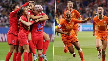 FIFA Women's World Cup 2019: Know Journey of USA and Netherlands Teams Before the Final in Lyon Olympic Stadium