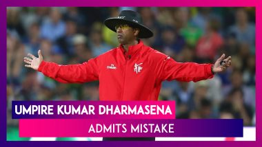 ICC Cricket World Cup 2019 Final Overthrow Controversy: Umpire Kumar Dharmasena Admits Mistake