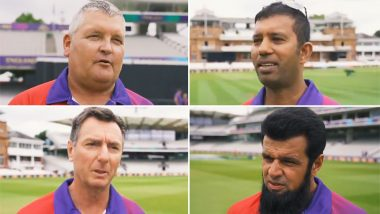 New Zealand vs England CWC 2019 Final: ICC Announces Umpires For Cricket World Cup 2019 Final Match, Posts Congratulatory Video