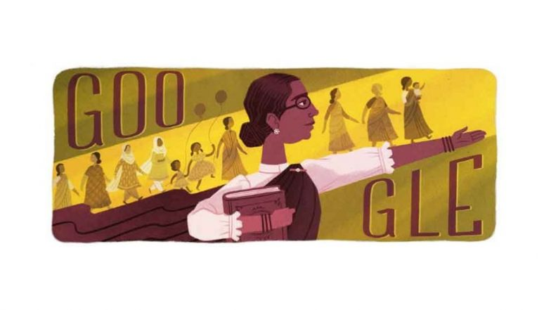 Dr Muthulakshmi Reddi Birthday: Google Doodle Celebrates 133rd Birth Anniversary of India's First Woman Surgeon in Government Hospital
