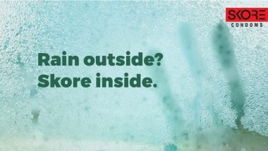 Skore Condom Scores A Six in Their Latest Monsoon Ad 'World Gets Naughtier When It Rains'