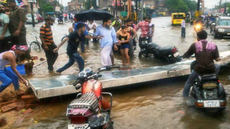Uttar Pradesh Rains: 15 Dead, 133 Buildings Collapse in 3 Days After Rainfall Wreaks Havoc Across the State