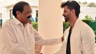 Hrithik Roshan Thanks Venkaiah Naidu For His Valuable Feedback To Super 30 - Read Tweets