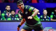 Sharath Kamal Out of Tokyo Olympic Games 2020, Loses to China's Ma Long in 3rd Round Table Tennis Match