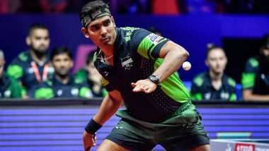 Sharath Kamal Out of Tokyo Olympic Games 2020, Loses to China's Ma Long in 3rd Round Men's Singles Table Tennis Match