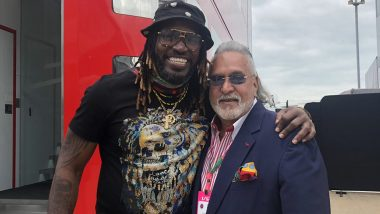 Vijay Mallya Meets Chris Gayle, Posts Message on Twitter for 'Losers' Calling Him 'Chor'