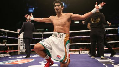 Vijender Singh Thanks Fans and Friends For Their Support After Beating Former Commonwealth Champion Charles Adamu to Maintain 12-0 Winning Streak
