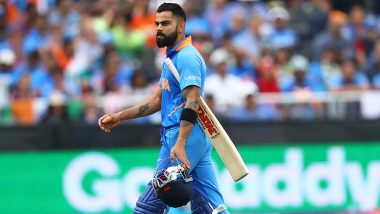 Ghosts of 2015! Virat Kohli Dismissed For 1 For the Second Consecutive Time in Cricket World Cup Semi-Finals