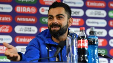 Virat Kohli Clarifies About his Recent Post With MS Dhoni Which Sparked Speculations of Former Indian Captain's Retirement (Watch Video)