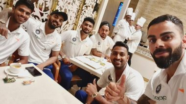Virat Kohli Shares Picture with Fellow Indian Teammates before Boarding Flight for United States to Play West Indies in T20s; See Pic