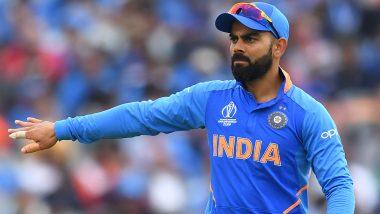 Virat Kohli Dances And Chants 'Oh Ravi Jadeja' As Ravindra Jadeja Dismisses Henry Nicholls in IND v NZ, ICC CWC 2019, Semi-Final 1; Watch Video