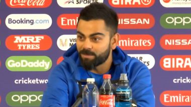 Virat Kohli Reminiscences About Facing Kane Williamson in U-19 World Cup 11 Years Ago on Eve of IND vs NZ Clash in ICC CWC 2019, Watch Video