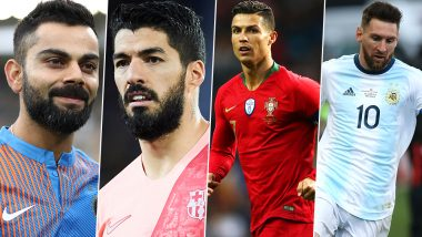 Instagram Rich List 2019: Virat Kohli Beats Luis Suarez, Cristiano Ronaldo Beats Lionel Messi in List of Richest Earning Sportsmen on Instagram
