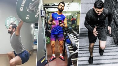 Virat Kohli Workout and Diet: Indian Cricket Team Skipper is a Fitness Freak And These Videos Are Proof!